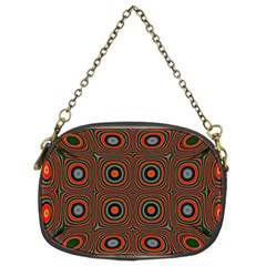 Vibrant Pattern Seamless Colorful Chain Purses (two Sides)  by Simbadda