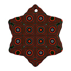 Vibrant Pattern Seamless Colorful Ornament (snowflake) by Simbadda