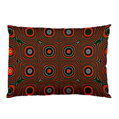 Vibrant Pattern Seamless Colorful Pillow Case (two Sides) by Simbadda