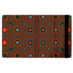 Vibrant Pattern Seamless Colorful Apple Ipad 2 Flip Case by Simbadda