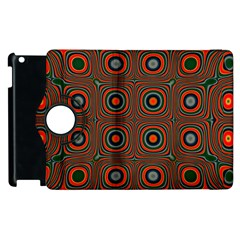 Vibrant Pattern Seamless Colorful Apple Ipad 3/4 Flip 360 Case by Simbadda