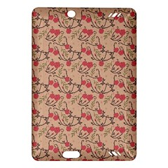 Vintage Flower Pattern  Amazon Kindle Fire Hd (2013) Hardshell Case by TastefulDesigns