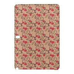 Vintage Flower Pattern  Samsung Galaxy Tab Pro 12 2 Hardshell Case by TastefulDesigns
