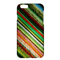 Colorful Stripe Extrude Background Apple Iphone 6 Plus/6s Plus Hardshell Case by Simbadda