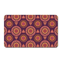Abstract Seamless Mandala Background Pattern Magnet (rectangular) by Simbadda