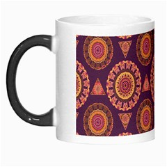Abstract Seamless Mandala Background Pattern Morph Mugs by Simbadda
