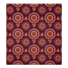 Abstract Seamless Mandala Background Pattern Shower Curtain 66  X 72  (large)  by Simbadda