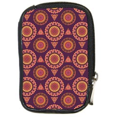 Abstract Seamless Mandala Background Pattern Compact Camera Cases by Simbadda