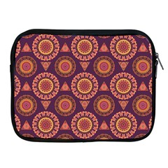 Abstract Seamless Mandala Background Pattern Apple Ipad 2/3/4 Zipper Cases by Simbadda