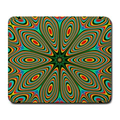 Vibrant Seamless Pattern  Colorful Large Mousepads by Simbadda