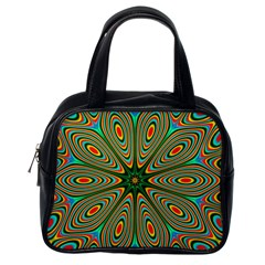 Vibrant Seamless Pattern  Colorful Classic Handbags (one Side) by Simbadda