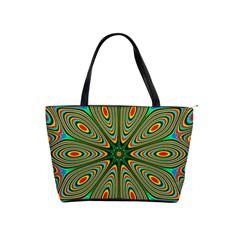 Vibrant Seamless Pattern  Colorful Shoulder Handbags by Simbadda