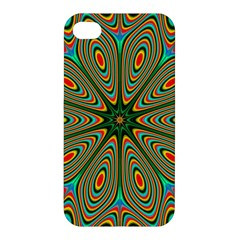 Vibrant Seamless Pattern  Colorful Apple Iphone 4/4s Hardshell Case by Simbadda
