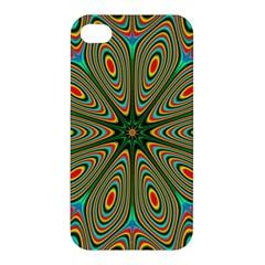 Vibrant Seamless Pattern  Colorful Apple Iphone 4/4s Premium Hardshell Case by Simbadda