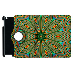 Vibrant Seamless Pattern  Colorful Apple Ipad 3/4 Flip 360 Case by Simbadda