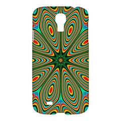 Vibrant Seamless Pattern  Colorful Samsung Galaxy S4 I9500/i9505 Hardshell Case by Simbadda