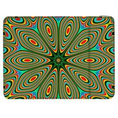Vibrant Seamless Pattern  Colorful Samsung Galaxy Tab 7  P1000 Flip Case by Simbadda