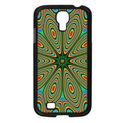 Vibrant Seamless Pattern  Colorful Samsung Galaxy S4 I9500/ I9505 Case (black) by Simbadda