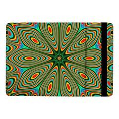 Vibrant Seamless Pattern  Colorful Samsung Galaxy Tab Pro 10 1  Flip Case by Simbadda