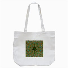 Vibrant Seamless Pattern  Colorful Tote Bag (white) by Simbadda