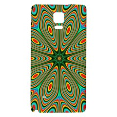 Vibrant Seamless Pattern  Colorful Galaxy Note 4 Back Case