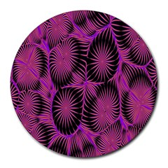 Self Similarity And Fractals Round Mousepads by Simbadda