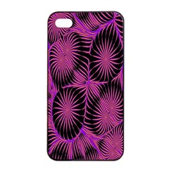 Self Similarity And Fractals Apple Iphone 4/4s Seamless Case (black) by Simbadda