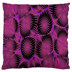 Self Similarity And Fractals Large Cushion Case (One Side)