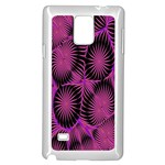Self Similarity And Fractals Samsung Galaxy Note 4 Case (White) Front