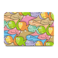 Fishes Cartoon Plate Mats by sifis