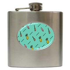 Guitar Pineapple Hip Flask (6 Oz) by Alisyart