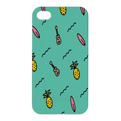 Guitar Pineapple Apple Iphone 4/4s Premium Hardshell Case by Alisyart
