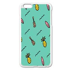 Guitar Pineapple Apple Iphone 6 Plus/6s Plus Enamel White Case by Alisyart
