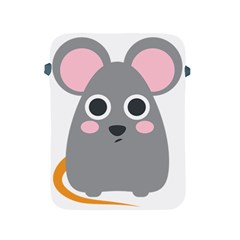 Mouse Grey Face Apple Ipad 2/3/4 Protective Soft Cases by Alisyart