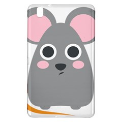 Mouse Grey Face Samsung Galaxy Tab Pro 8 4 Hardshell Case by Alisyart