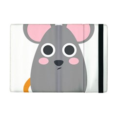 Mouse Grey Face Ipad Mini 2 Flip Cases by Alisyart