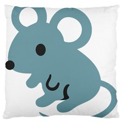 Mouse Large Cushion Case (two Sides) by Alisyart
