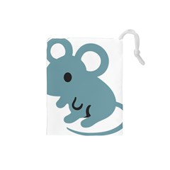 Mouse Drawstring Pouches (small)  by Alisyart