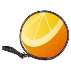 Orange Lime Yellow Fruit Fress Classic 20 Cd Wallets by Alisyart