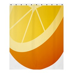 Orange Lime Yellow Fruit Fress Shower Curtain 60  X 72  (medium)  by Alisyart