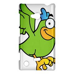 Parrot Cartoon Character Flying Nokia Lumia 720 by Alisyart