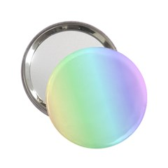 Multi Color Pastel Background 2 25  Handbag Mirrors by Simbadda