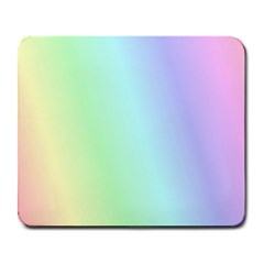Multi Color Pastel Background Large Mousepads by Simbadda