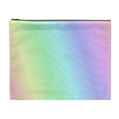 Multi Color Pastel Background Cosmetic Bag (xl) by Simbadda
