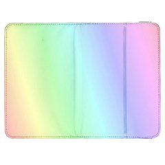 Multi Color Pastel Background Samsung Galaxy Tab 7  P1000 Flip Case by Simbadda