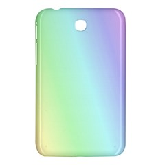 Multi Color Pastel Background Samsung Galaxy Tab 3 (7 ) P3200 Hardshell Case  by Simbadda
