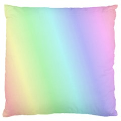 Multi Color Pastel Background Standard Flano Cushion Case (two Sides) by Simbadda