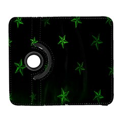 Nautical Star Green Space Light Galaxy S3 (flip/folio) by Alisyart