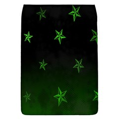 Nautical Star Green Space Light Flap Covers (s)  by Alisyart
