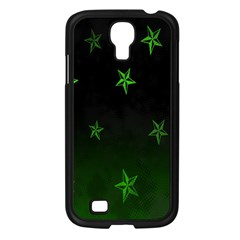 Nautical Star Green Space Light Samsung Galaxy S4 I9500/ I9505 Case (black) by Alisyart